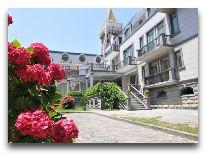 отель O Galogre: Внутренний дворик отеля