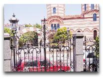 отель O Galogre: Вид на Церковью Св. Николая