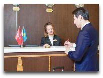 отель Ramada Plaza Astana: Ресепшен