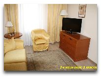 санаторий Ок-Жетпес: Номер Люкс 2-х комнатный 2 класса