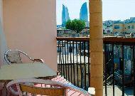 отель Old City Inn: Балкон в номере
