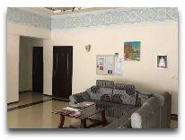 отель Old Khiva: Холл отеля