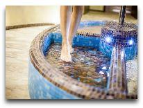 отель Olymp III Spa & Wellness: Бассейн для ног
