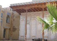 отель Omar Khayam: Дворик отеля