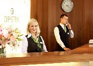 отель Opera Hotel & Spa: Ресепшн