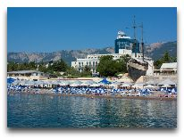 отель Ореанда: Пляж