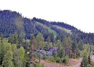 отель Коттедж Örebäcken: Вид на склоны