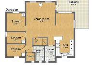 отель Коттедж Örebäcken: План коттеджа 2 этаж