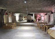 отель Duzdag: Кафетерий в соляной пещере