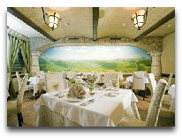 отель Отрада: Ресторан