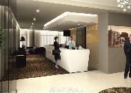 отель Hotell Palace: Ресепшен