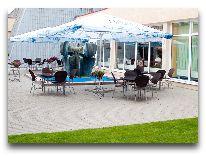отель Palangos Linas: Летняя терраса