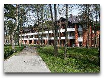 отель Palangos Zuvedra: Здание отеля
