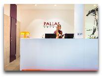 отель Pallas: Ресепшн