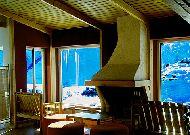 отель Ski House Panorama: Камин