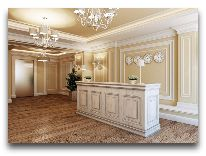 отель Paris Hotel Yerevan: Решепшен