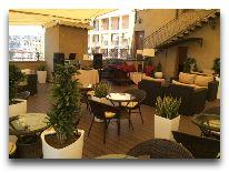 отель Paris Hotel Yerevan: Ресторан отеля на верху