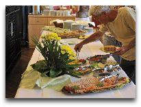 отель Pawilon Edward (Cieplice): Завтрак