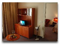 отель Perkuno Namai: Номер Mahogany Suite