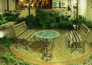 отель Platan: Внутренний дворик