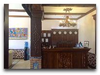 отель Platan: Ресепшен отеля