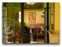 отель Hotel Pod Rozami (Cieplice): Вход в ресторан