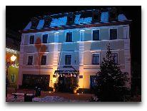 отель Hotel Pod Rozami (Cieplice): Рождество