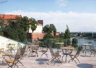 отель Pod Wawelem: Летняя терраса