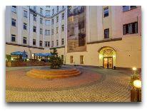 отель Polonia Wroclaw: Внутренний дворик отеля