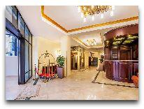 отель Porta Caucasia Kazbegi: Вход в отель