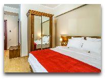 отель Porta Caucasia Kazbegi: Стандартный номер с видом на Казбек