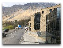 отель Porta Caucasia Kazbegi: Ресторан Лигурия