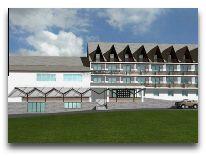 отель Premier Palace Bakuriani: Фасад отеля