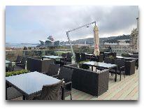 отель Promenade Hotel Baku: Веранда отеля