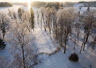 отель Puhajarve: Зимой в поместье