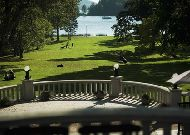 отель Puhajarve: Вид с террасы
