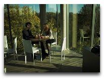 отель Puhajarve: Кафе в башне
