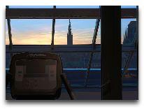 отель Puro Gdansk Stare Miasto: Вид из тренажерного зала