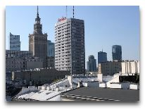 отель Puro Warszawa Centrum: Терраса отеля
