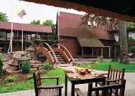 отель Hotel Pusu Paunksneje: Летняя терраса
