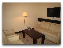 отель Radisson Blu Gdansk: Комната отдыха в люксе