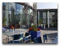 отель Radisson BLU Royal: Летняя терраса