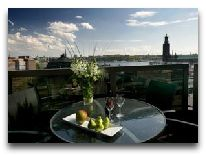 отель Radisson Bly Royal Viking: летняя терраса в номере Сьют