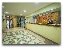 отель Ramada Plaza Gence: Ресепшен