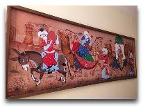 отель Rangrez Hotel Bukhara: Коридор отеля
