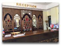 отель Rangrez Hotel Bukhara: Холл отеля