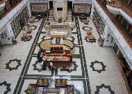 отель Registan Plaza: Вид на холл сверху