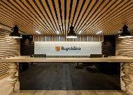 отель Republica: Ресепшен