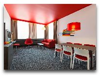 отель Park Inn Radisson Central Tallinn: Номер Suite