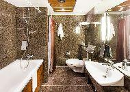 отель Radisson Blu Hotel Olympia: Ванна комната Business cl.